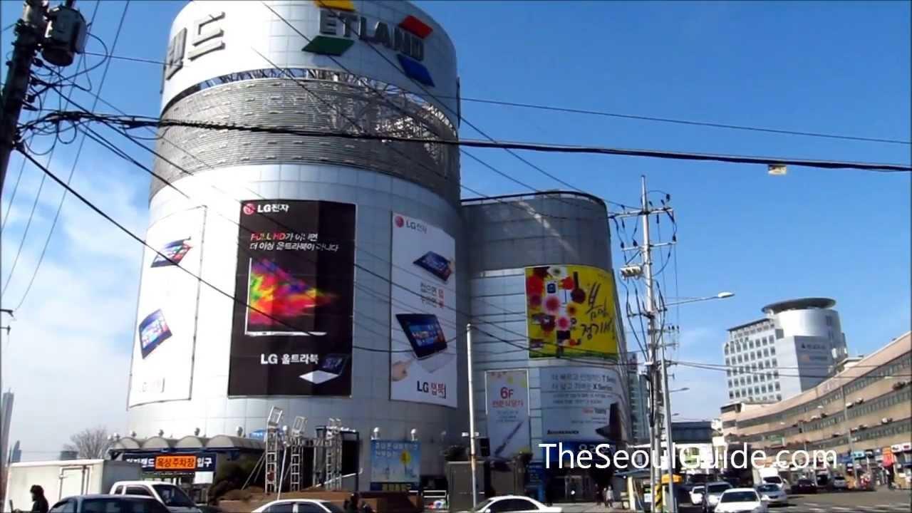 ETLAND Electronics Land at Yongsan Electronics Market in Seoul ... 1a63367822c