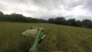 cutting hay (gopro)