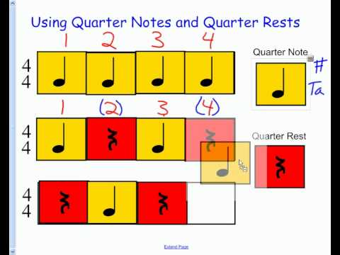 Baugh Music Theory - Basic Rhythms