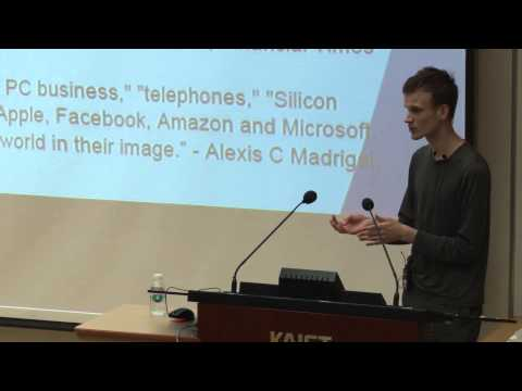 [ICISTS-KAIST 2015] Vitalik Buterin - Ethereum: Building the decentralized world