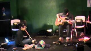 Cheryl Borja and James Bess at Laboratory Music 5 Improvisation Festival