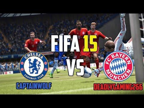 Fifa 15 Ro Online: Chelsea Vs Bayern #Wolf (FULLHD)