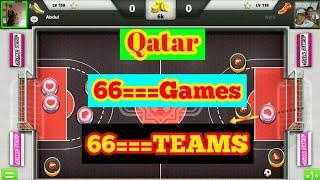 SOCCER STARS QATAR 66 GAMES 66 TEAMS FUNNY PLAY