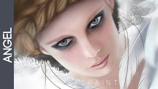 Speed painting.Angel by 8MAIKA8