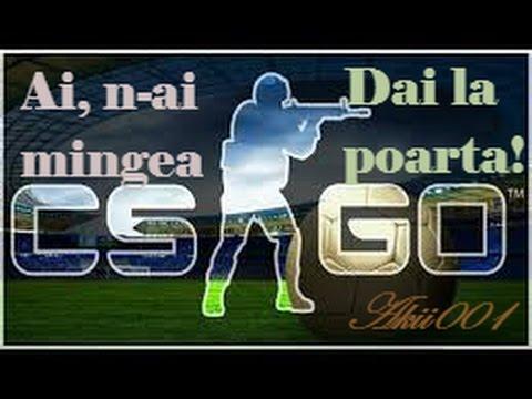 CS GO Romania Fotbal - Ai, n-ai mingea, dai la poarta! Funny Moments