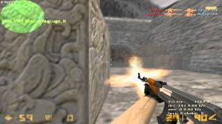 Counter Strike 1.6 Commentary & Gameplay in de_aztec by Mr.Latvian