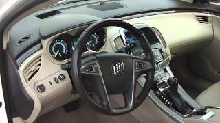 2010 Buick LaCrosse CXL Sedan White used car dealer Dayton troy Piqua Sidney Ohio | 26737A