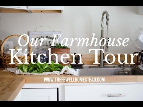 Our Farmhouse Kitchen Tour