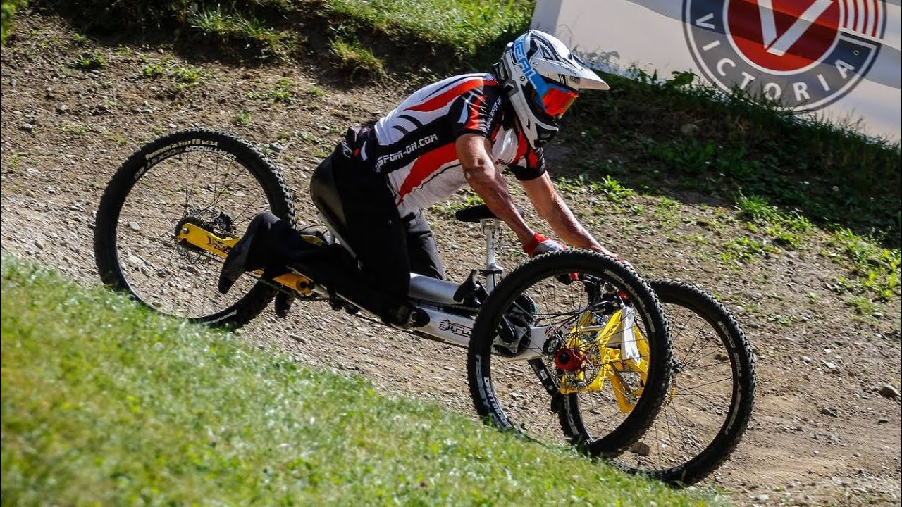 Watch Out For Bicycles >> The EXPLORER III off-road handcycle - YouTube