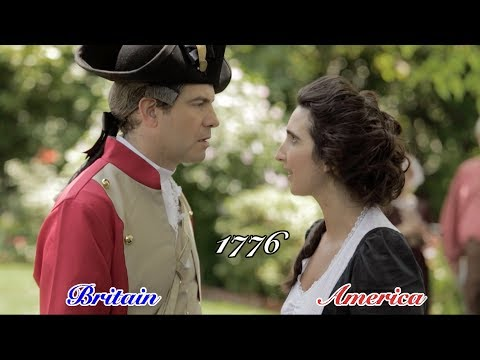 Awkward Exes: Britain & America 1776 - The Breakup   (by We Are Thomasse)