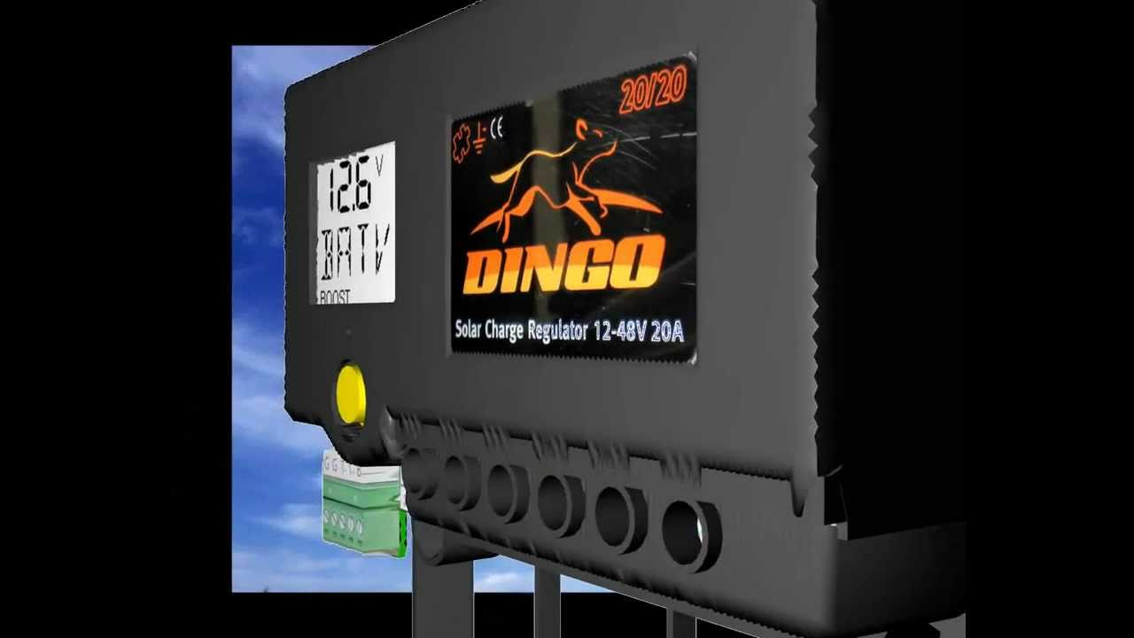 Dingo Solar Charge Controller Youtube