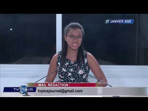 JOURNAL DU 27 JANVIER 2020 BY TV PLUS MADAGASCAR