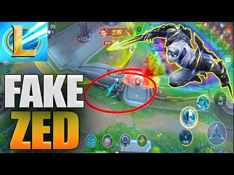 League Of Legends Wild Rift Zed Gameplay Copy (Lol Mobile)