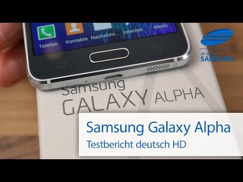 Samsung Galaxy Alpha SM-G850F Test Review deutsch HD