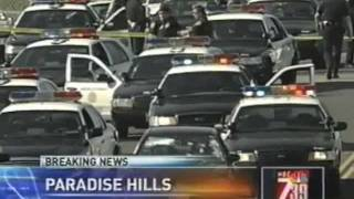 San Diego Police Exchange Gunfire with Suspect During & After Pursuit of Black Honda - ASTREA