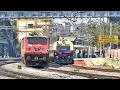 HUMSAFAR Express OVERTAKES MEMU - Indian Railways
