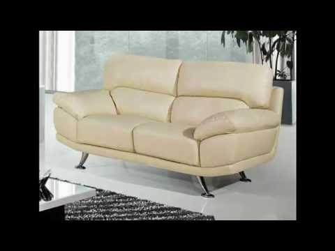 bali 3 & 2 seater cream leather sofas.mp4 - YouTube