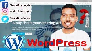 Create Free Website For Beginners