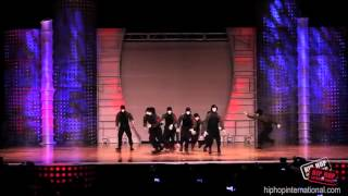 performance de dança hip hop