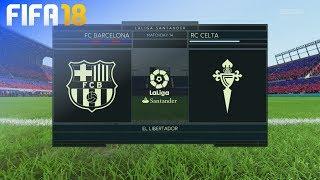 Download Video FIFA 18 - FC Barcelona vs. Celta de Vigo @ El Libertador MP3 3GP MP4