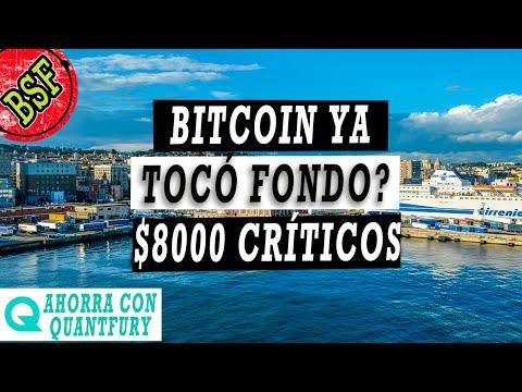 Bitcoin BAJA Sin Piedad... Seguimos Alcistas? Cuidar $8000 Es La Clave