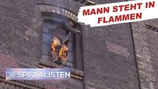 Brand in Schreinerei - Frau und Kind im Gebäude   Auf Streife - Die Spezialisten   SAT.1 TV