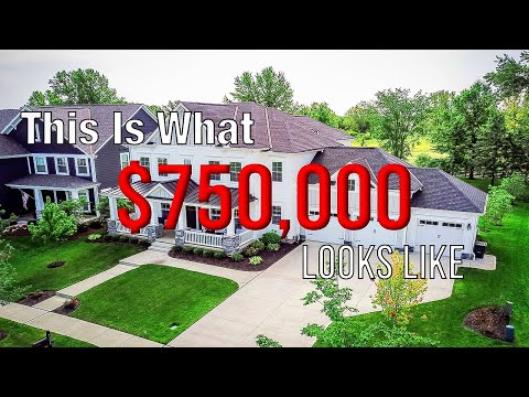 What Does $750k Buy In Ohio? (Columbus Ohio House Tour)