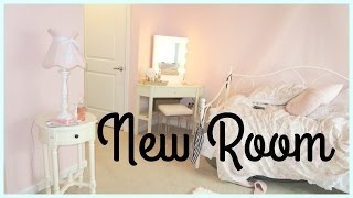 My new room! room tour