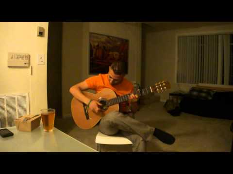 Playing Fusion Flamenco Guitar (Tribute to All The Young Entrepreneurs, and My friend Kumar)