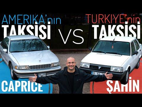 Türkiye'nin Taksisi Tofaş Şahin, Amerika'nın Taksisi Chevrolet Caprice Classic'e Karşı