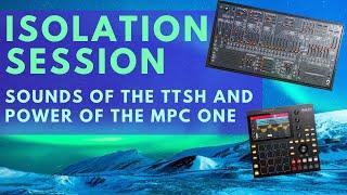TTSH + MPC One Isolation Session Techno (ARP 2600 clone)