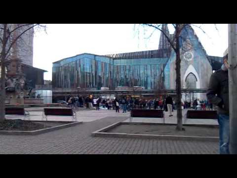 Asamblea (Acampada / Occupy) Leipzig Augustusplatz 14.01.2012