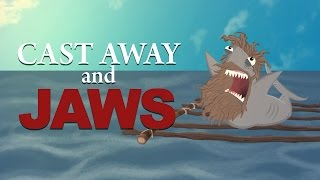 Movie Mash: Cast Away and Jaws - HISHE Features: Hank and Jed