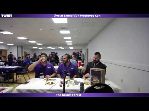 Sneak Peek - The Grimm Forest - Live at Expedition Prototype Con