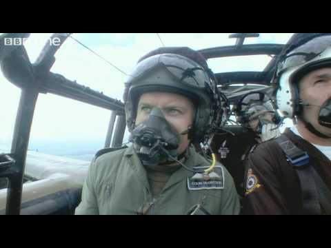 Colin and Ewan McGregor fly an original Lancaster Bomber - Bomber Boys - BBC One