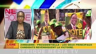 Zimbabwe / présidentielle : les deux principaux candidats revendiquent la victoire