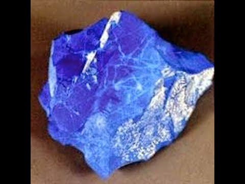 Blue Dragon Stone Discovered in Morocco