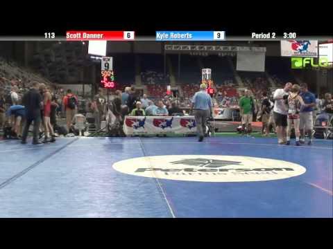 Cadet 113 - Scott Danner (Idaho) vs. Kyle Roberts (Michigan)