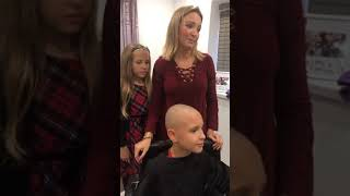 Ethan's Charity head shave