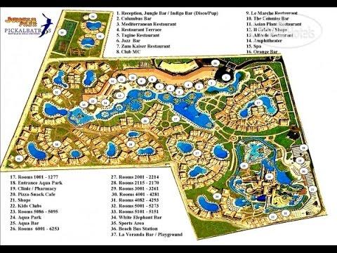 Egypt Hurghada Jungle Aqua Park 07 2015 Youtube