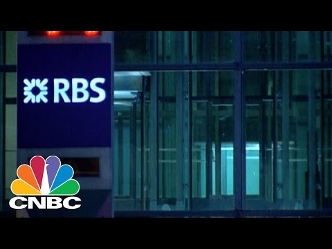 The Royal Bank of Scotland Sell Off Begins | CNBC