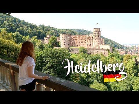 HEIDELBERG, GERMANY | Castle Ruins, Philosopher's Walk, The World's Biggest Wine Barrel 🇩🇪