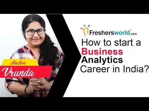 How to start a Business Analytics Career in India ? - Skills