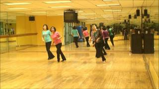 Into The Arena - Line Dance (Demo & Walk-Thru)