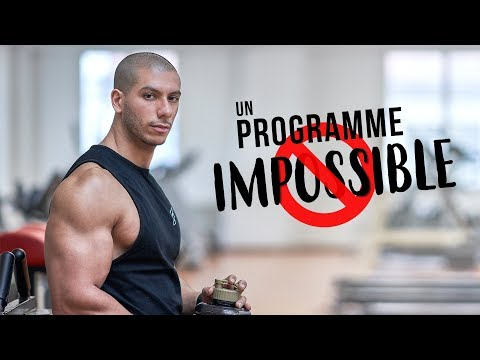 Un PROGRAMME de MUSCULATION impossible à faire