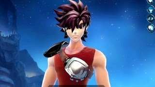 Saint Seiya Online - Male Character Creation - Gold Cloth preview - Open Beta (CN)