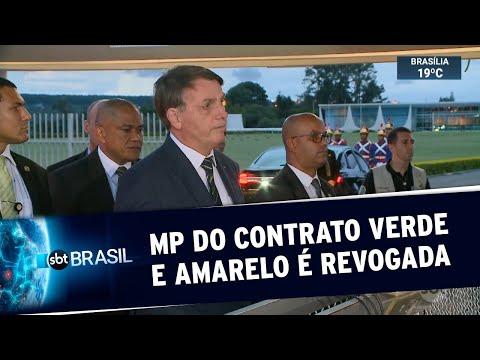 Governo decide revogar MP do Contrato Verde e Amarelo | SBT Brasil (20/04/20)