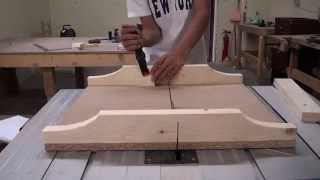 How To Build A Simple Cross-cut Sled