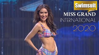 TOP 20 Swimsuit Competition ✦ Miss Grand International 2020 - FINAL SHOW
