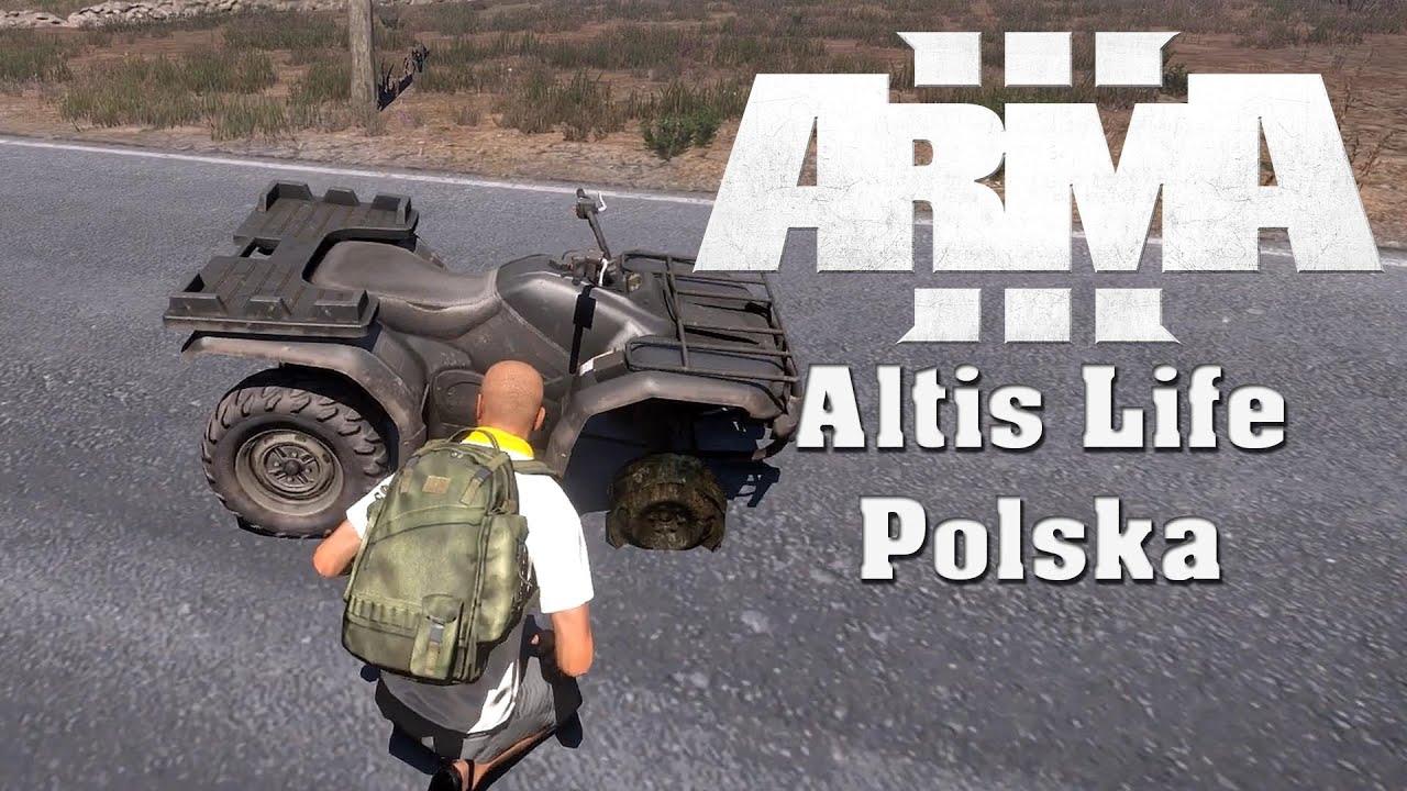 Arma 3 Altis Life #1 - Wypadek - YouTube
